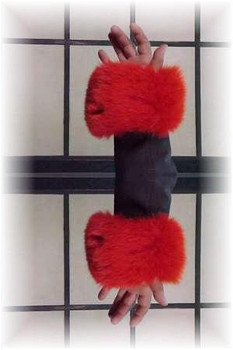 Full Skin Fox Fur Cuffs 10