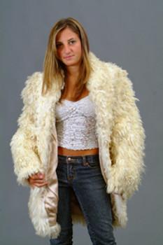 Vintage Fur Curly Lamb Jacket