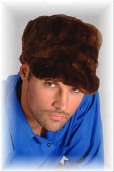 Beaver Baseball Fur Cap 1