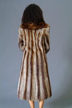 Vintage Fur Raccoon Full Skin Coat