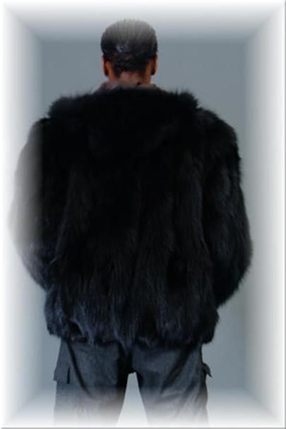 Fox Fur Bomber Jacket 2