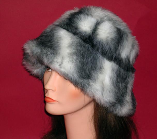 Chinchilla Fur Faux hat