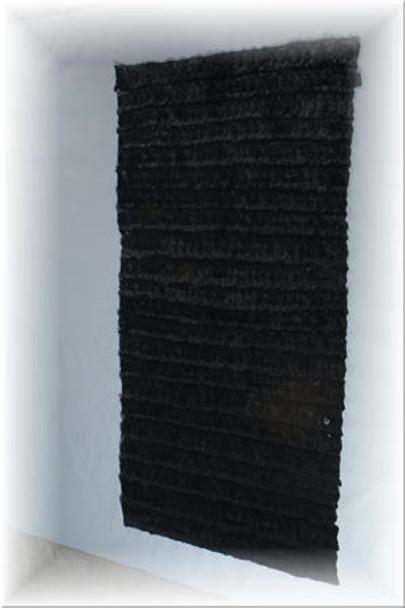 Black Mink Fur Plate 1