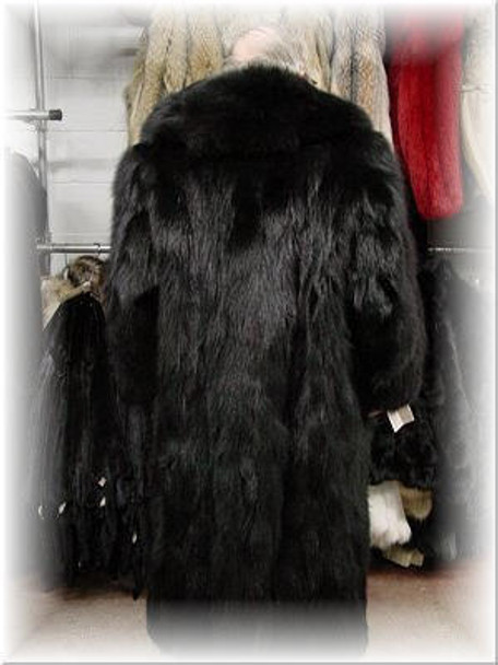 Black Fox Design Coat