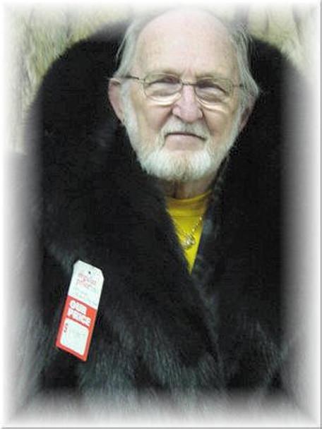 Black Fox Design Coat