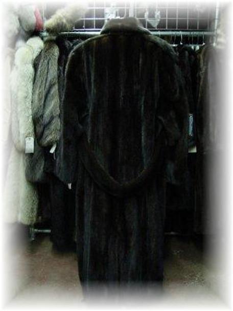 Mahogany Mink Men's Coat