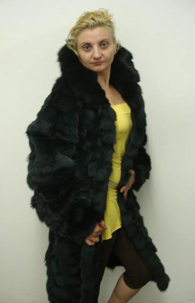 3/4 Gray Fox Design Coat