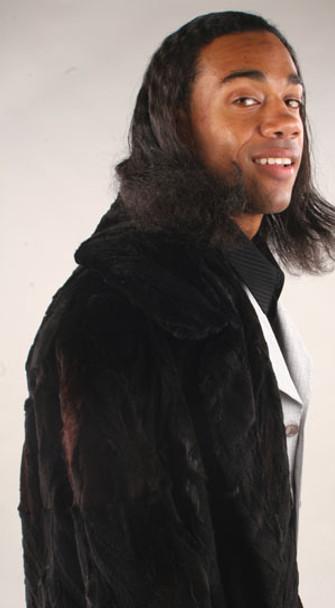 3/4 Men's Mink Coat