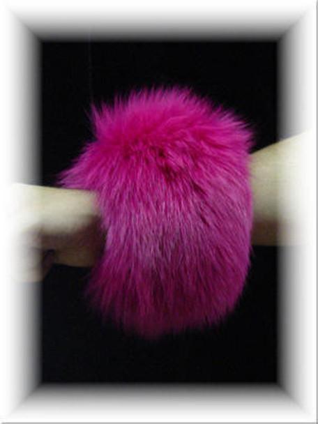 Full Skin Fox Fur Cuffs 6