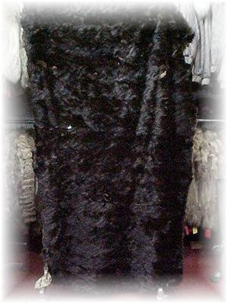 Dark Sectional Mink Fur Blanket