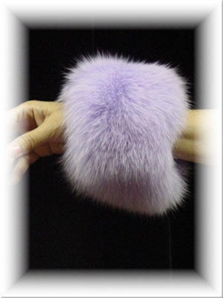 Full Skin Fox Fur Cuffs 1