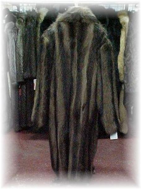 Men's Full Skin Raccoon Coat