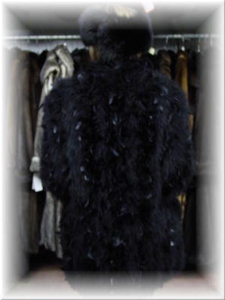 Beautiful Ostridge Feather Jacket