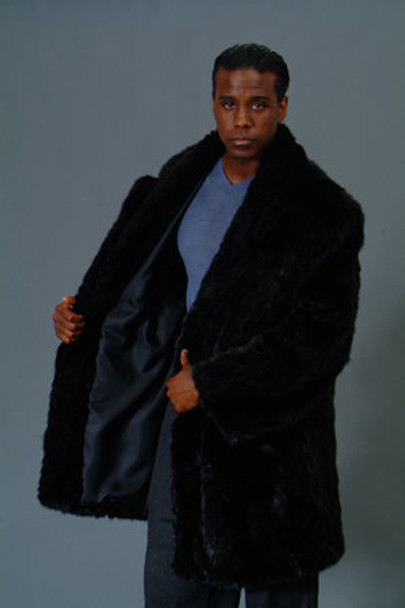 3/4 Mink Fur Jacket w/ Notch Collar