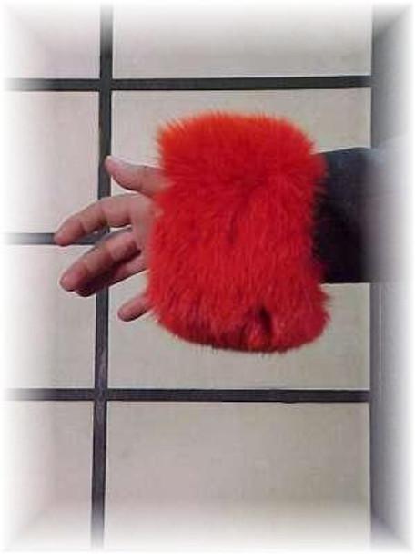 Full Skin Fox Fur Cuffs 10