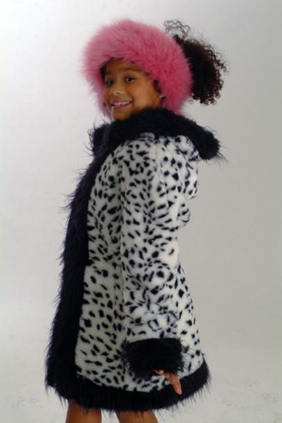 Kids Faux Leopard Jacket