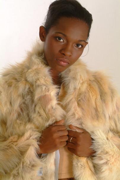 Coyotte Fur Long Coat