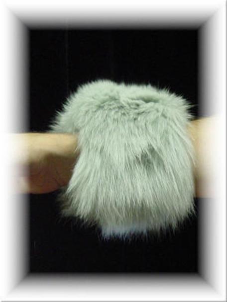 Full Skin Fox Fur Cuffs 4