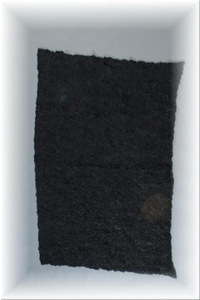 Black Mink Fur Plate