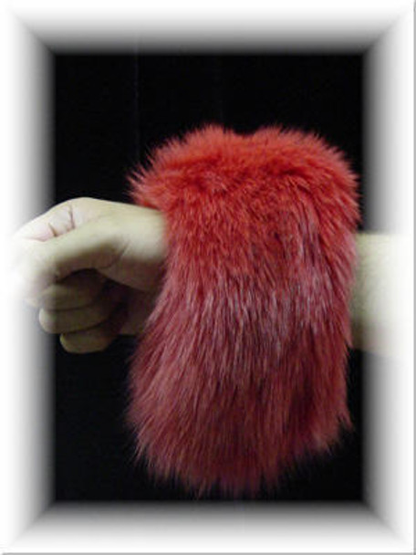 Full Skin Fox Fur Cuffs