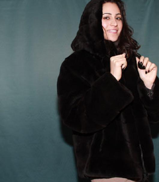 Sheared Mink Ful Pelt Jacket