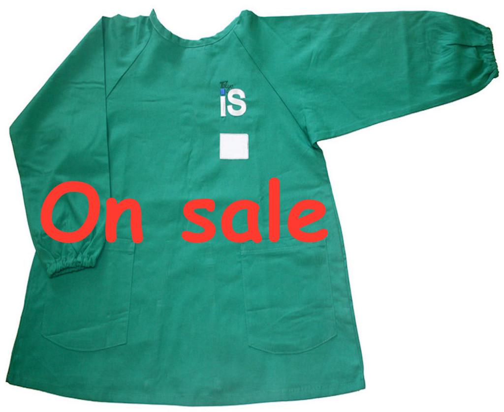 TIS Kindergarten 1 long-sleeved smock