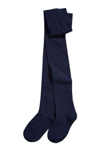 Navy blue winter tights