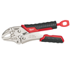 "Milwaukee 5"" TORQUE LOCK Curved Jaw Locking Pliers w/ Durable Grip"