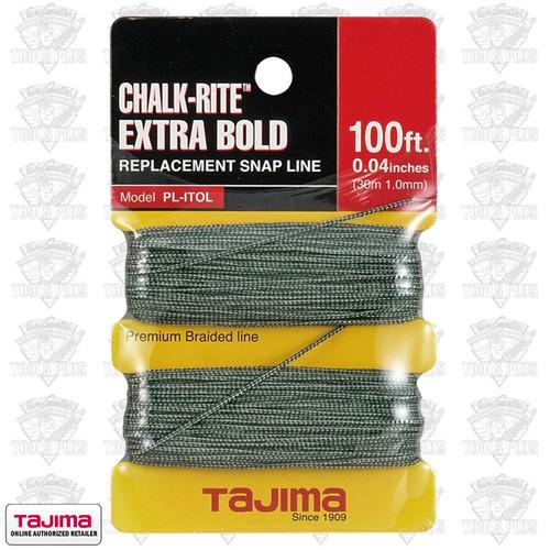 Tajima Chalk-Rite .04 100-ft Replacement Snap Line