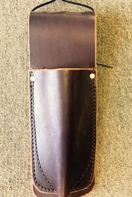 """Amish Leather Snip Holder (3"""" Belt)"""