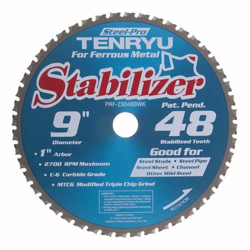 "Tenryu PRF-23048BWK 9"" steel-Pro Stabilizer Saw Blade"