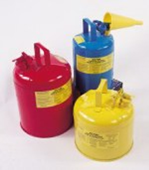 2 Gallon Type 1 Red Safety Can w/ Funnel
