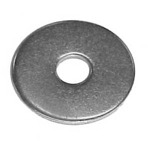 "1/4 x 1 1/2"" Zinc Plated Fender Washers (Thousand/Box)"