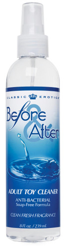 Before and After Anti-Bacterial Adult Toy Cleaner 8 Fl. Oz. (AA814)