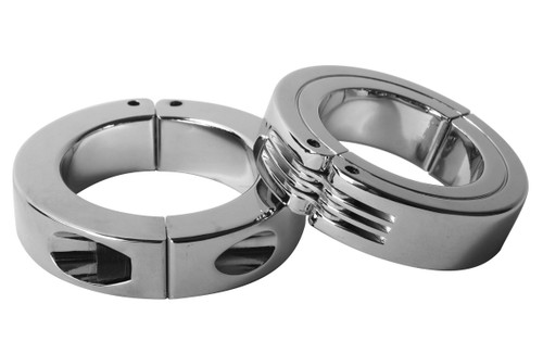 Locking Hinged Cock Ring Size : S-S