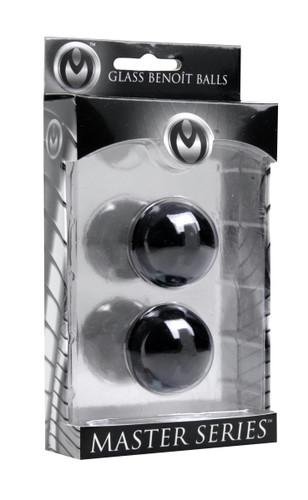 Jaded Glass Ben Wa Balls (AD174)