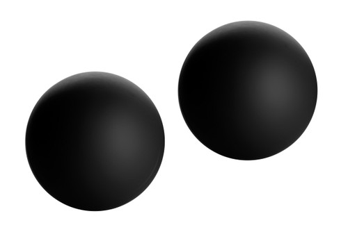 Marquis Velvety Ben Wa Balls (Black) (AC934-Black)