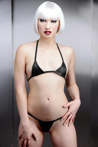 Mini Leather Bikini