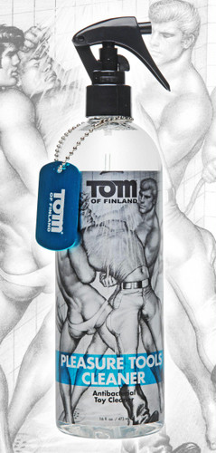Tom of Finland Pleasure Tools Cleaner- 16oz (TF4196)