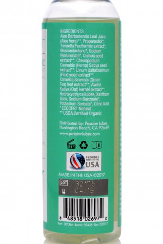 Dr. Fulbright Organic Water-Based Lubricant 4oz