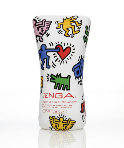 Tenga Keith Haring Soft Tube Cup (AF296)