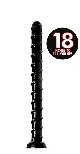 Hosed 18 Inch Swirl Anal Snake (AF549)