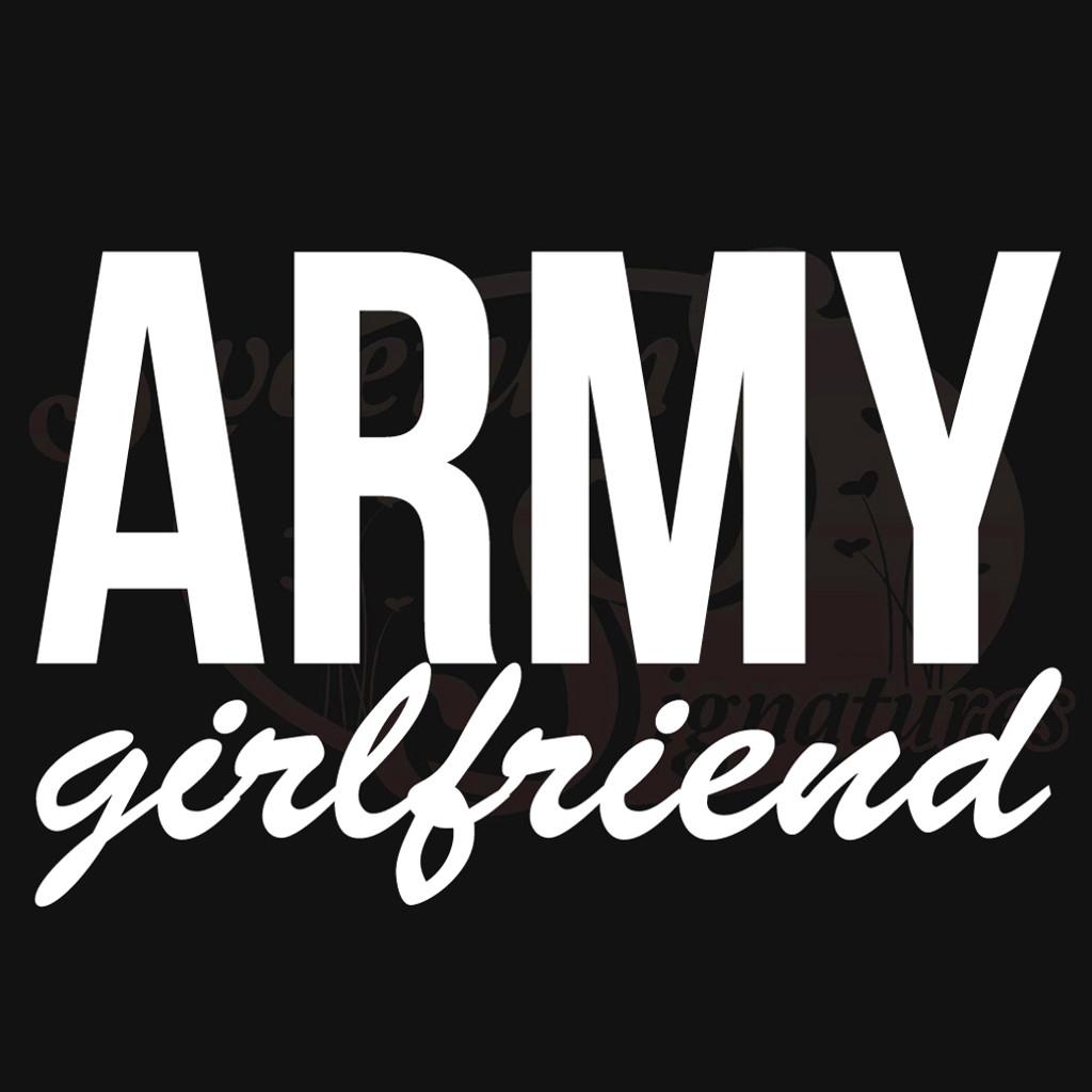 Army Girlfriend Vehicle Decals Stickers
