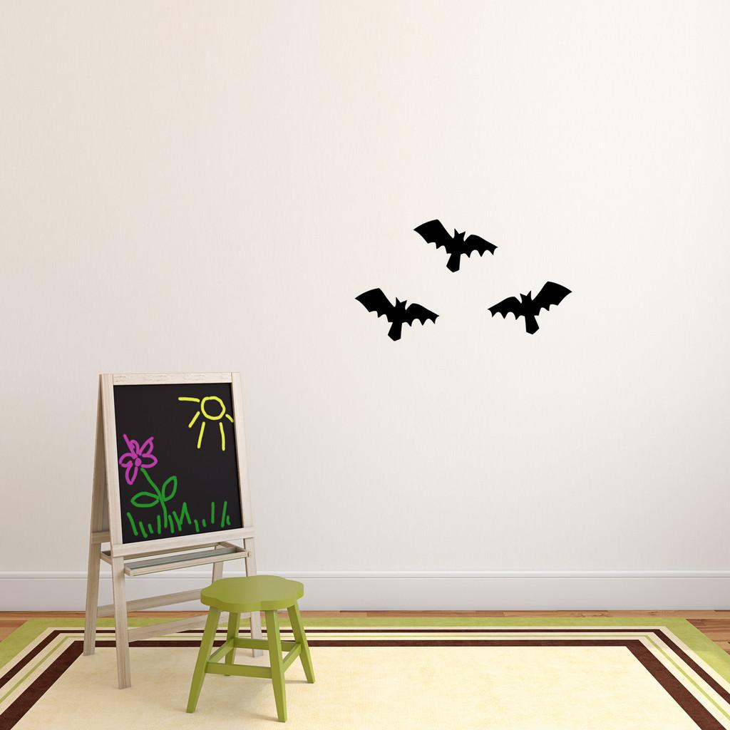 Bats Wall Decal Set Small Sample Image