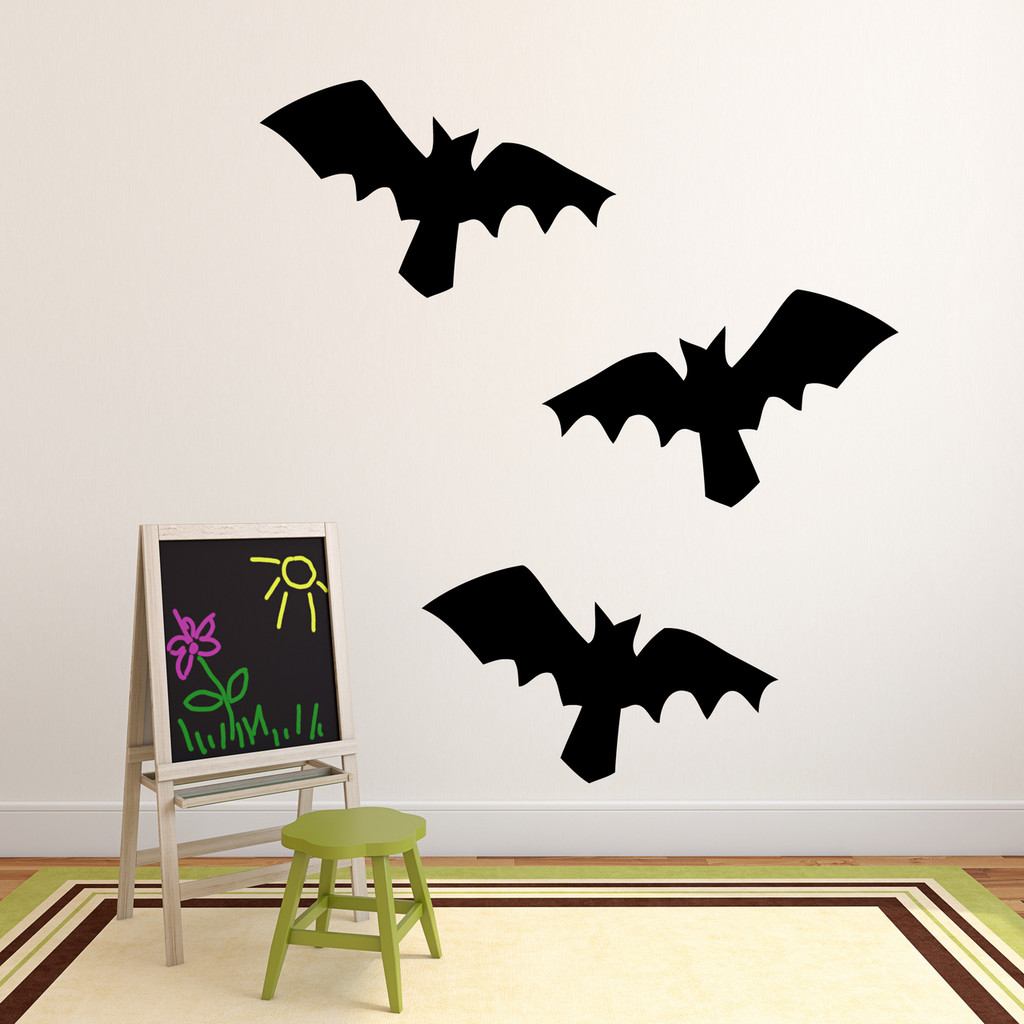 Bats Wall Decal Set Large Sample Image