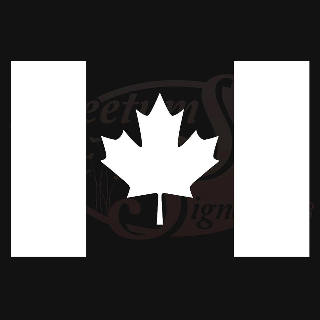 Canadian Flag Vehicle Decals Stickers