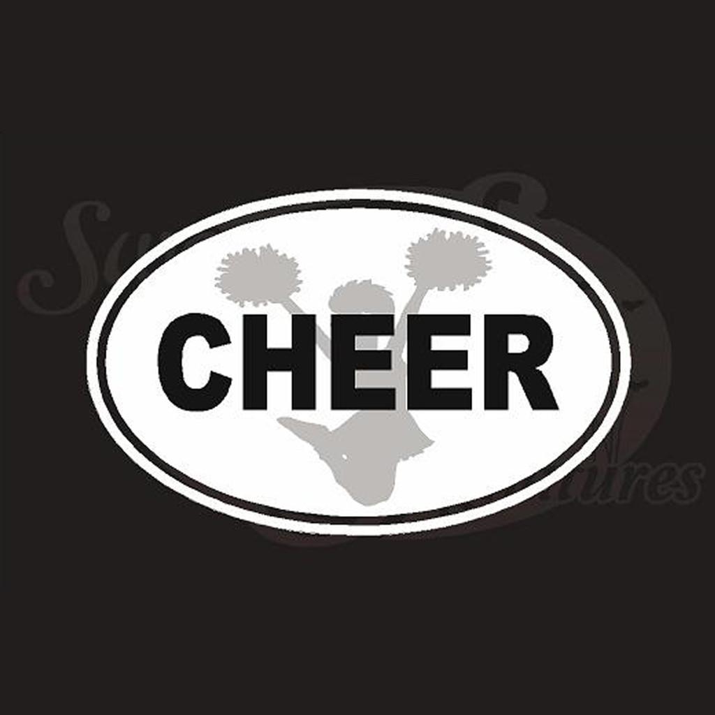 Cheer Vehicle Decals Stickers