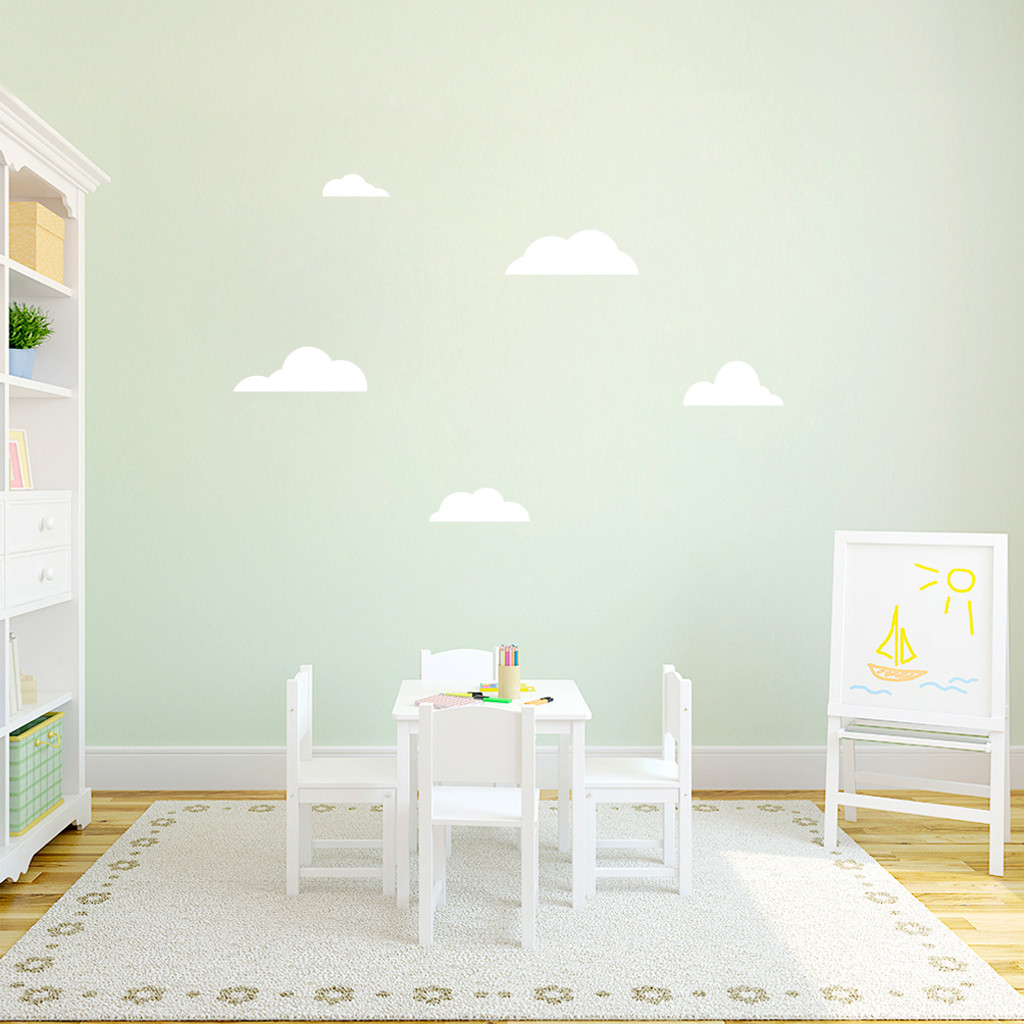 Clouds Wall Decals Small Sample Image