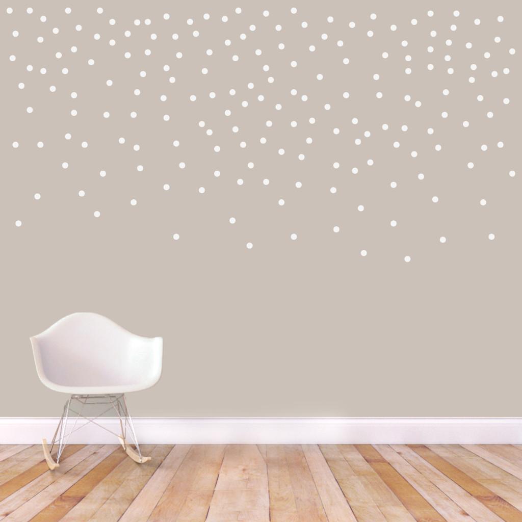 """Confetti Dots Wall Decals 1"""" Confetti Dots Sample Image"""