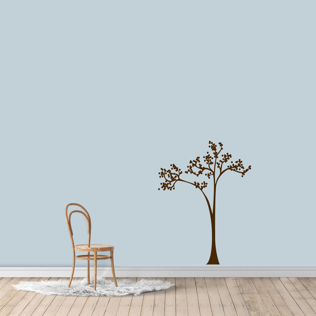 "Dot Tree Wall Decal 27"" wide x 36"" tall Sample Image"